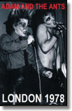 ADAM & THE ANTS - MC Roundhouse Marquee 1978