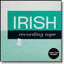 AGENT SIDE GRINDER - LP Irish Recording Tape (Lim.Ed./coloured Vinyl)