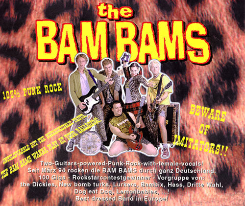 BAM BAMS, THE - CD Back To The City