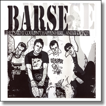 BARSE 77 - LP They Said It Could... (Lim. Ed./weißes Vinyl)