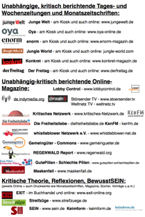 BGE Infos und Alternative Medien Link-Liste - free Download PDF-Text