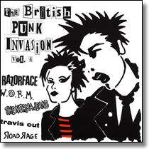British Punk Invasion CD 4