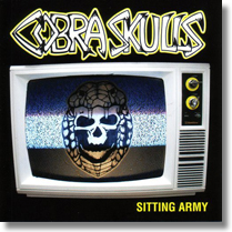 COBRA SKULLS - CD Sitting Army