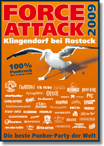 FORCE ATTACK FESTIVAL 2009 - DVD-Sampler