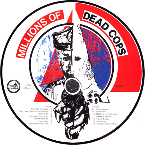 M.D.C. - Pic-LP Millions Of Dead Cops (Lim. Ed./Picture-Disc)