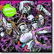 MUTANT REAVERS - LP(+CD) Monster Punk (coloured Vinyl)