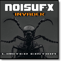 NOISUF-X - CD Invader (Lim. Ed. Digipack)