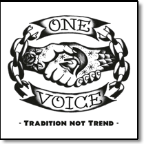 ONE VOICE - LP Tradition Not Trend (200 gr./+Download)
