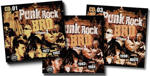 PUNK ROCK BRD Vol.1 - 3fachCD-BOX-Sampler