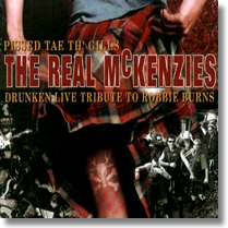 REAL McKENZIES - LP Pissed The Tae Gills
