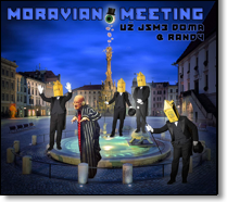 RESIDENTS, THE / UZ JSME DOMA & RANDY (THE RESIDENTS) - CD Moravian Meeting