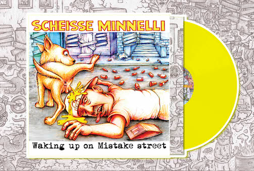 SCHEISSE MINNELLI - LP Waking Up On Mistake Street (Lim.Ed./coloured Vinyl)