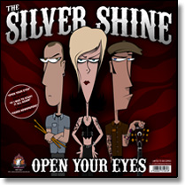 SILVER SHINE, THE / ROCKETZ, THE - Split-LP Open Your Eyes / Before The Night (Lim. Ed./coloured Vinyl)