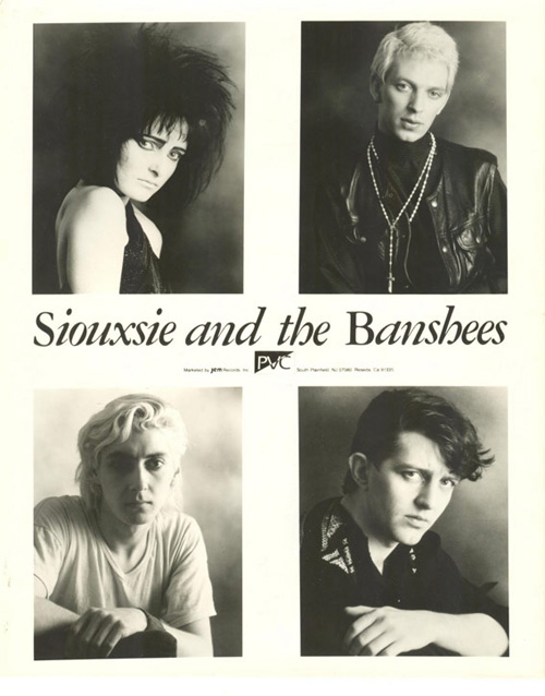 SIOUXSIE & THE BANSHEES - MC New Theatre Oxford