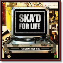 SKA`D FOR LIFE - STRICTLY ROCKERS PRESENTS - LP-Sampler (Lim. Ed.)