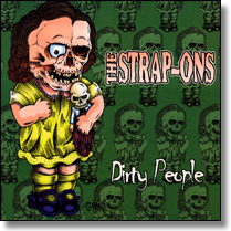 STRAP-ONS, THE - LP Dirty People