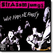 STRASSENJUNGS - CD Wir ham ne Party