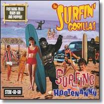 SURFIN`GORILLAS, THE - CD Surfing Hooteneanny