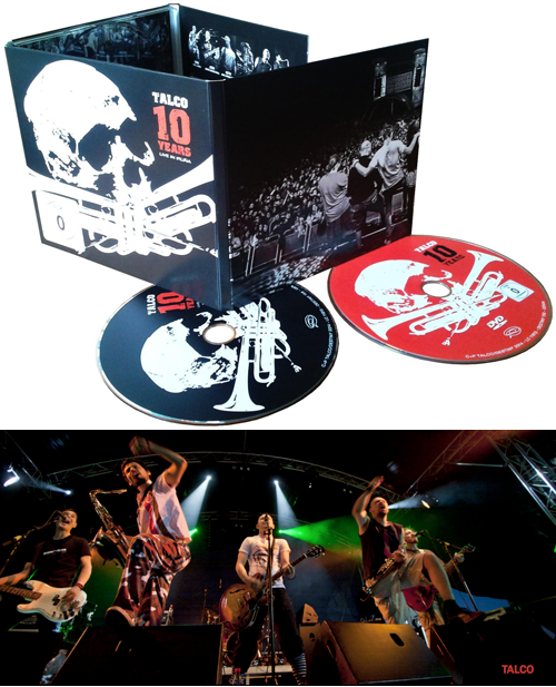 TALCO - CD(+DVD) 10 Years - Live In Iruna