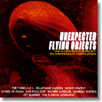 "UNEXPECTED FLYING OBJECTS - 10""-Sampler - The 5th Anniversary Compilation of THE (Lim.Ed./red Vinyl)"