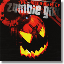 ZOMBIE GIRL - CD The Halloween EP